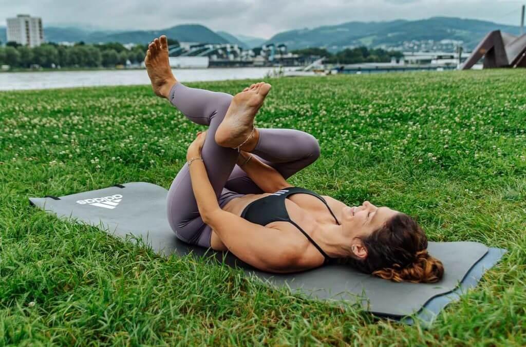 Yoga for Runners: Reclining Pigeon (Sucirandhrasana)