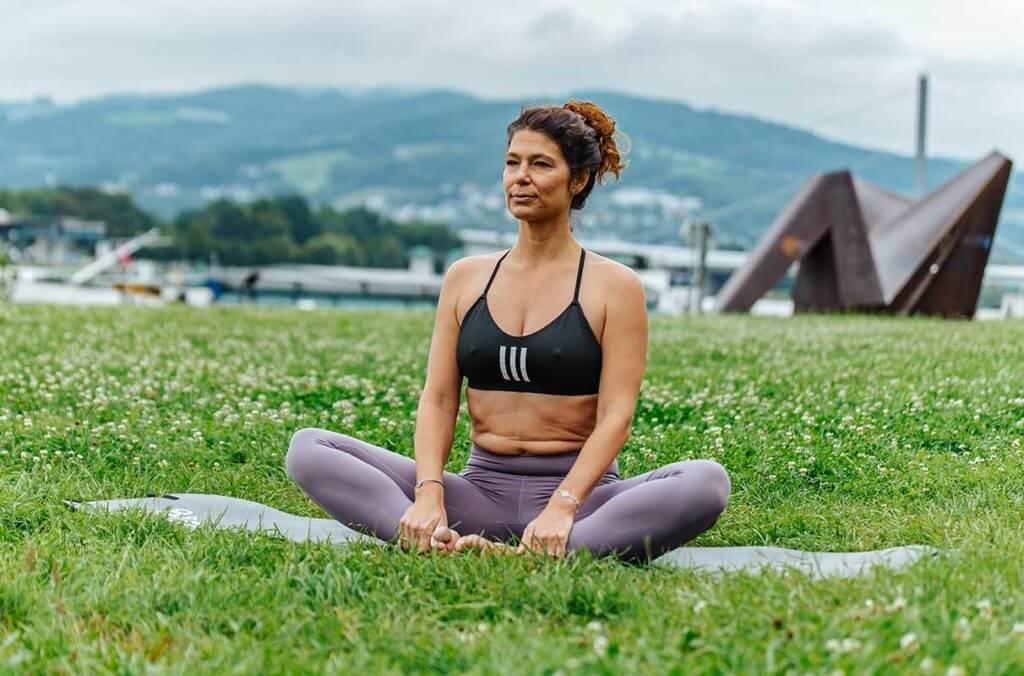 Yoga for runners: Cobbler or Butterfly (Baddha Konasana)