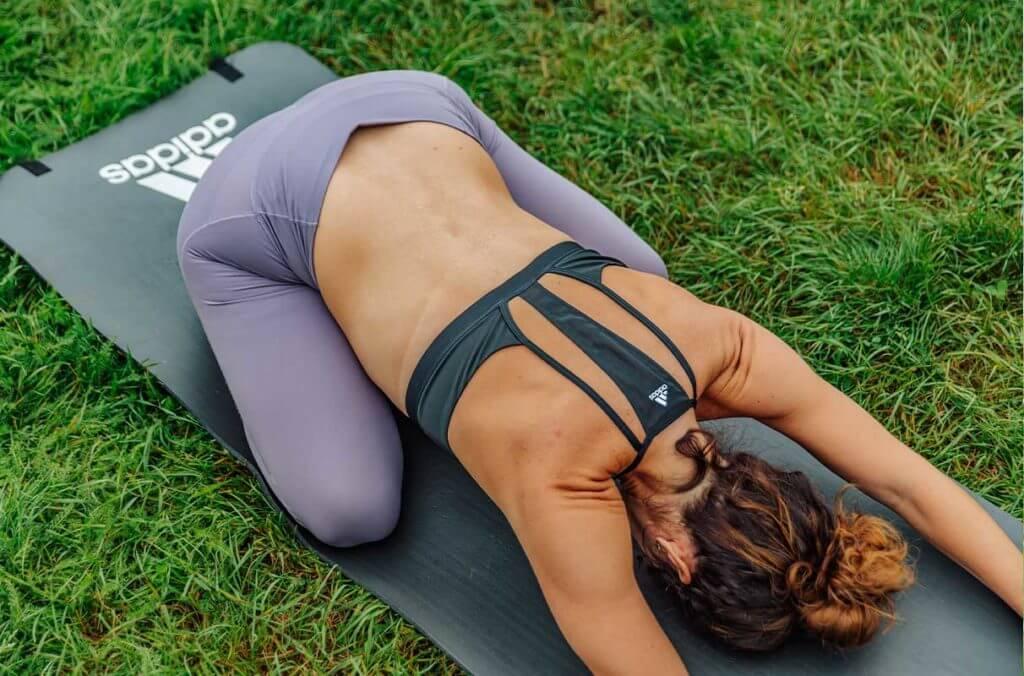 Yoga for runners: Child's pose (Balasana)