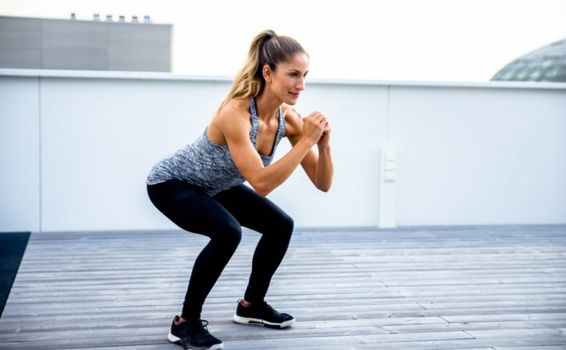 Jump-squat outdoor