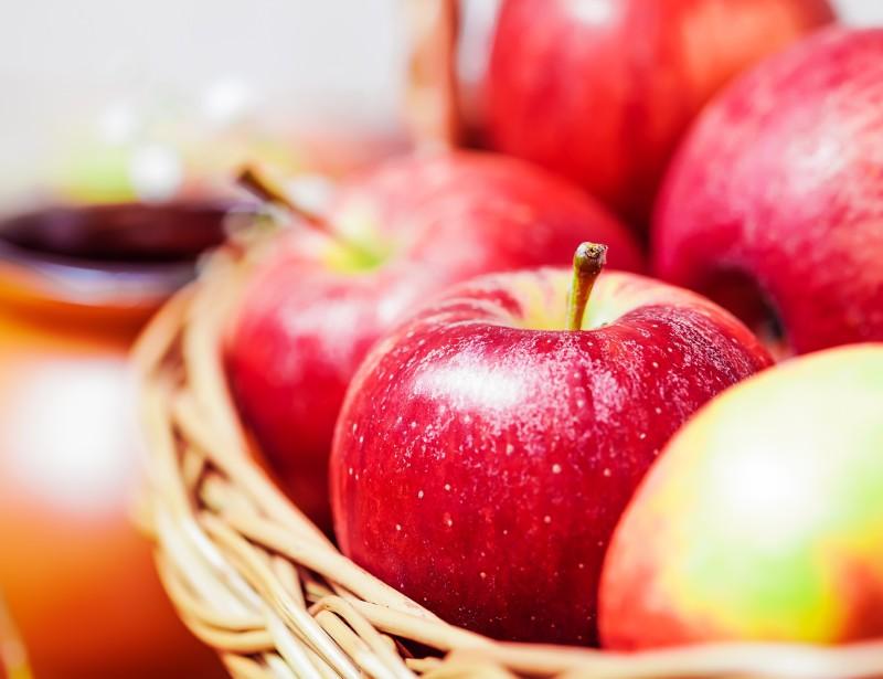 Äpfel sind gesund