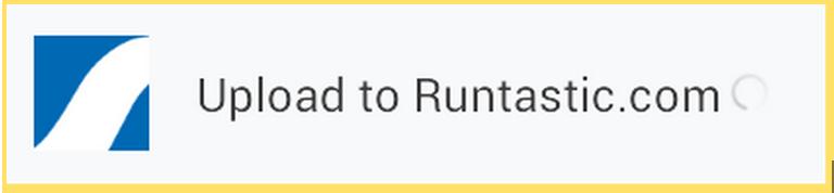 Runtastic syncing