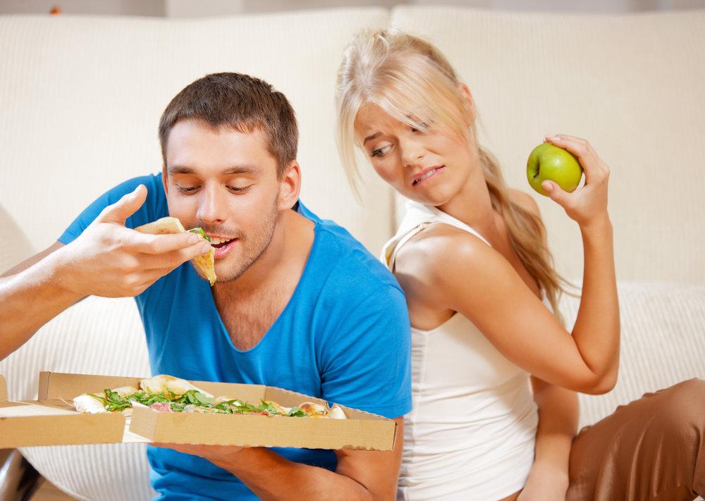 ernährst du dich gesund