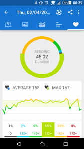 Runtastic Marathon training