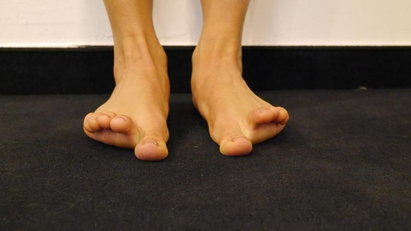 Zehenyoga für stabile Füße