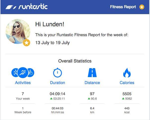 fitness report