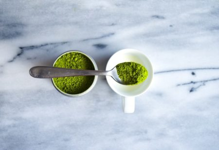 Matcha powder is an amazing superfood to boost the immune system