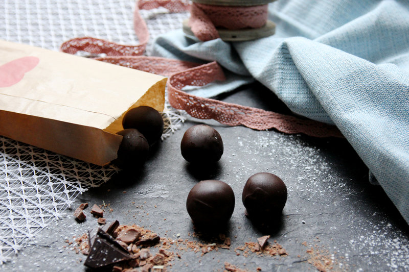 Sweet no-bake peanut butter balls