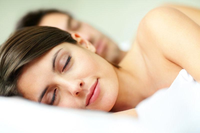 Couple endormi