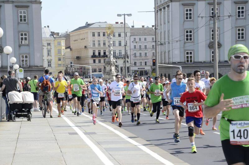 Image of the Linz marathon.