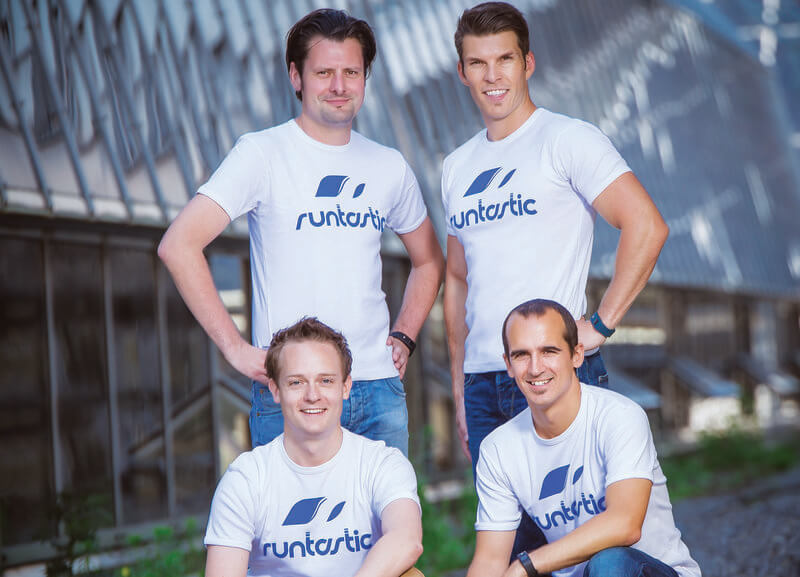 Image of Runtastic's founders.