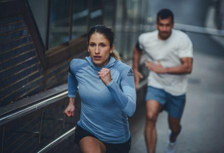 Runners outdoor