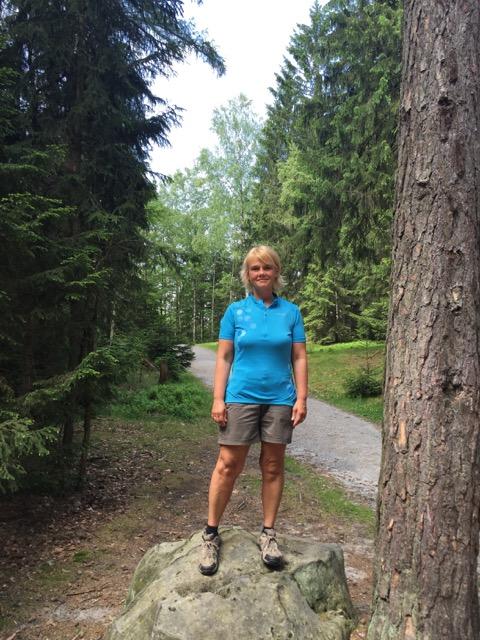 Inge Linke hat 44 kg abgenommen.