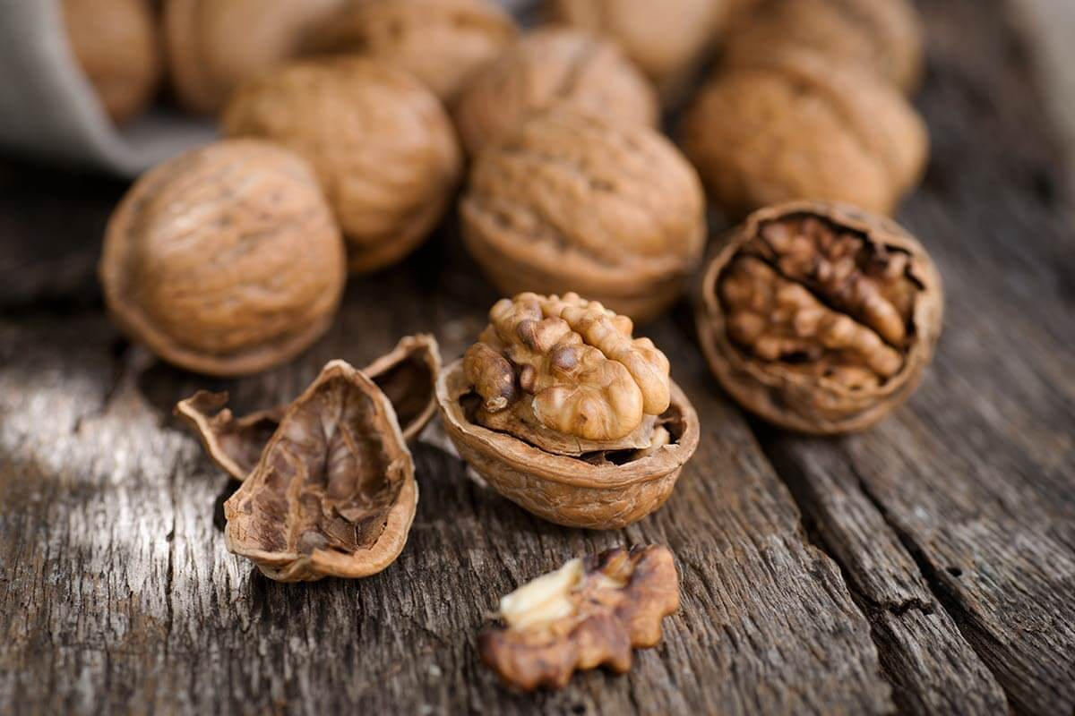 Walnuts are amazing for stress relief.