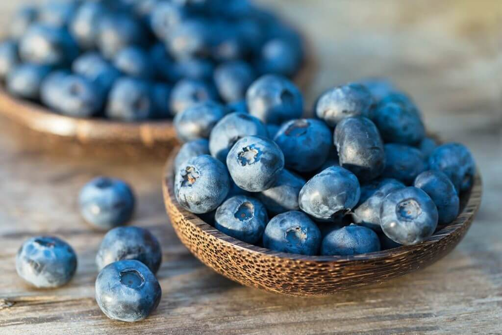 Top 5 Foods for Stress Relief: Blueberries are an amazing brain food