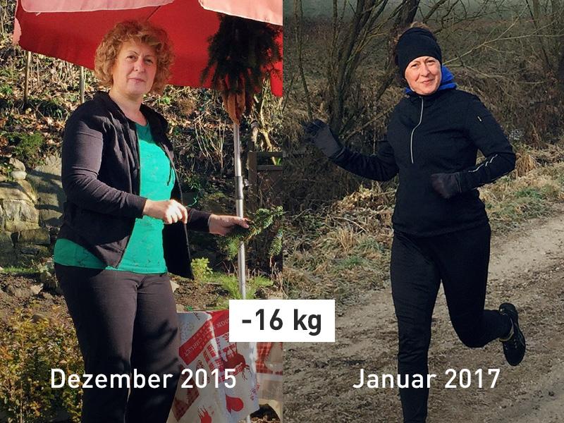 Vorher Nachher Foto Erfolgsgeschichte Ksenija