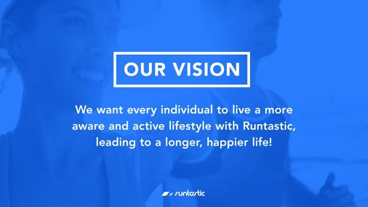 Runtastics Vision