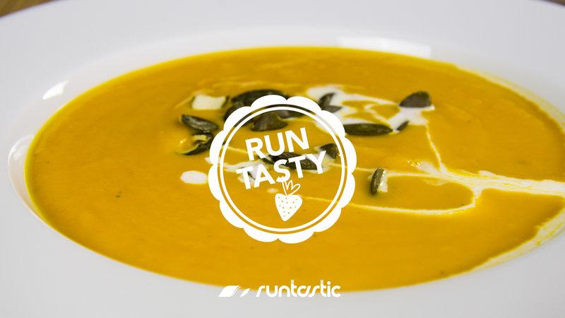 Runtasty Vegane Kürbis-Süßkartoffel-Suppe mit Kokosmilch