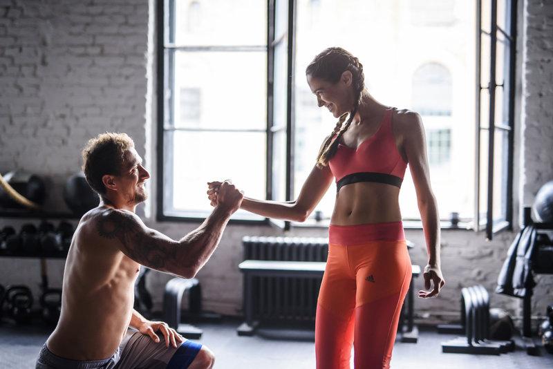 allenarsi in coppia