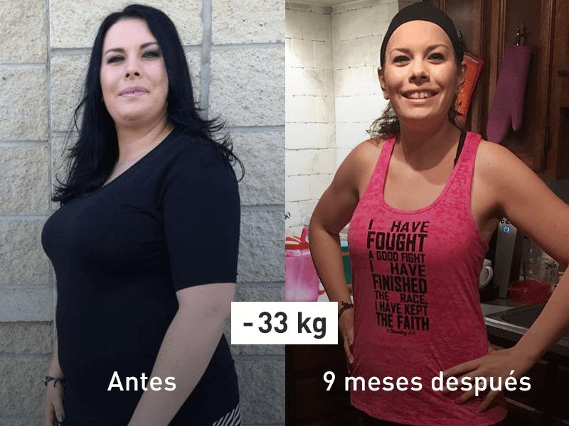 Tegan antes y después
