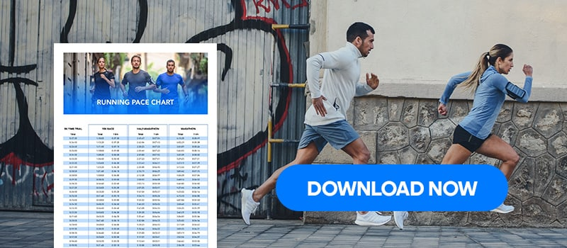 Download pace chart for runners