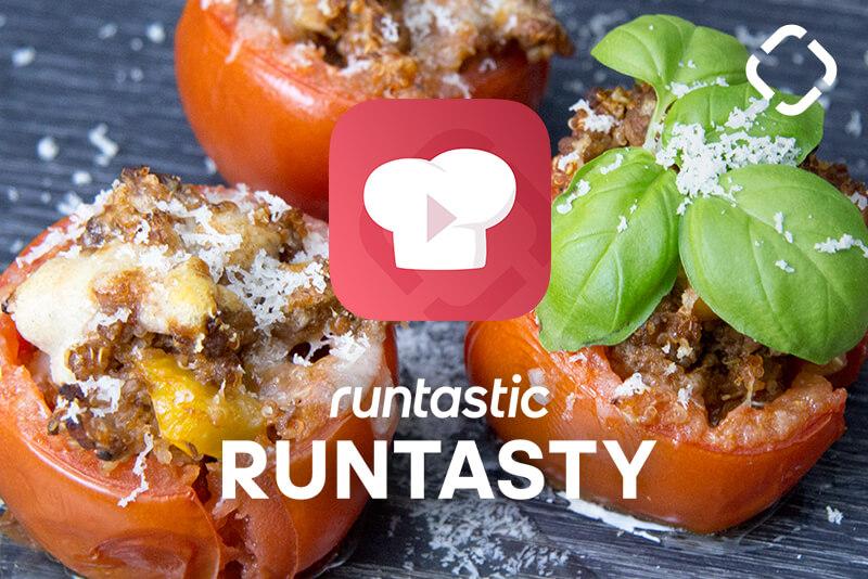 Pomodori ripieni di quinoa e carne per un carico di proteine