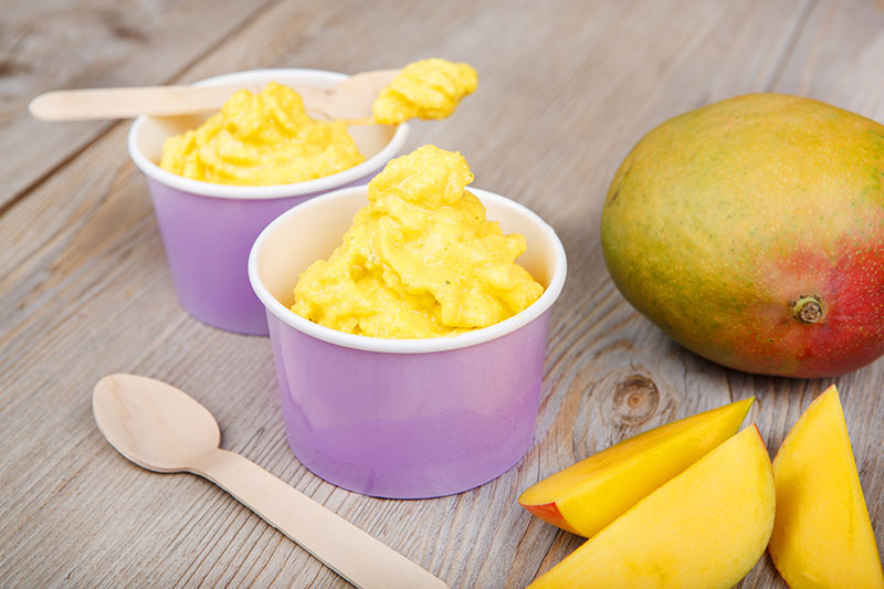 Mango Nicecream
