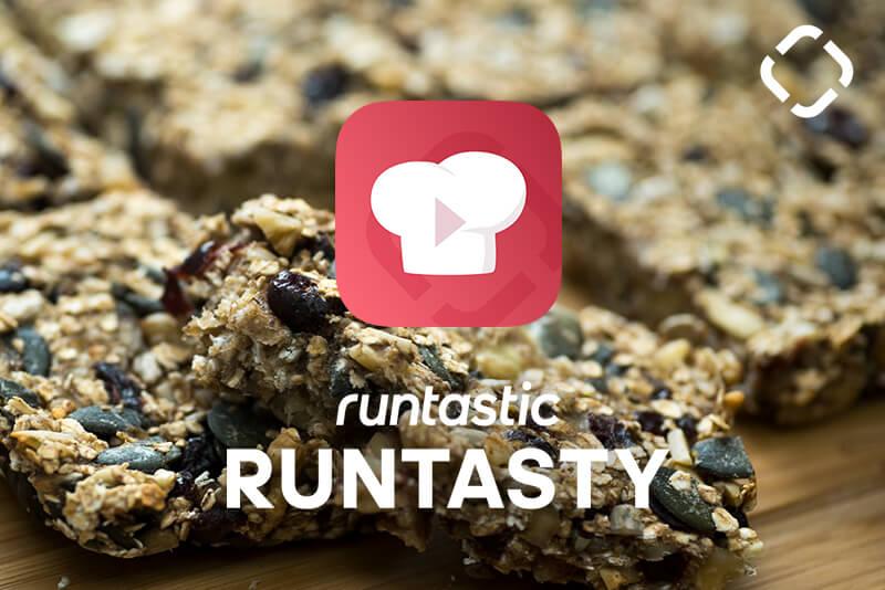 Runtasty healthy granola bar