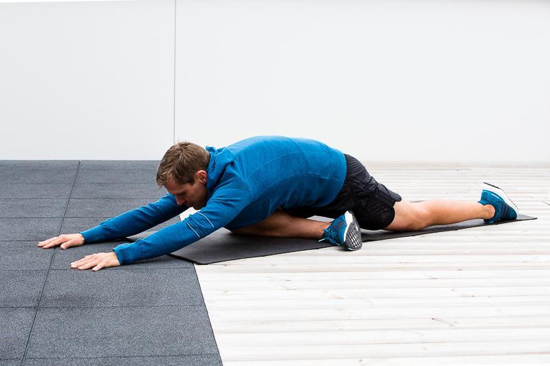 ginocchio del corridore esercizi