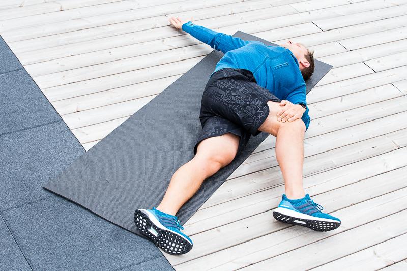 ginocchio del corrridore esercizi