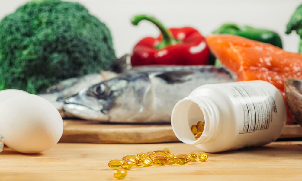 Alimenti ricchi vitamina D integratori