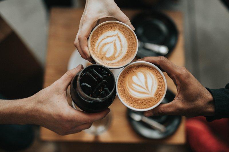 Tasses de café au lait