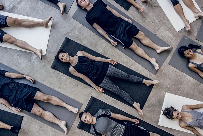 Eine Yogastunde