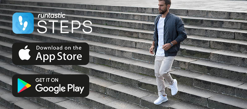 Runtastic Steps Download Banner