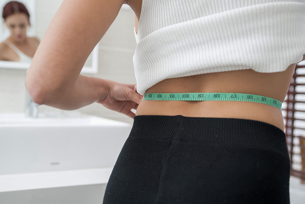 If you want to calculate your body fat percentage using the US Navy Method, all you need is a measuring tape to measure different parts of your body.