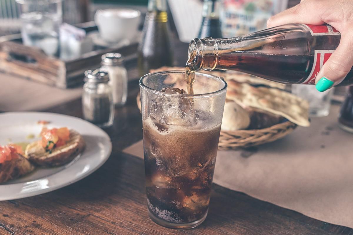 is diet coke bad for runners