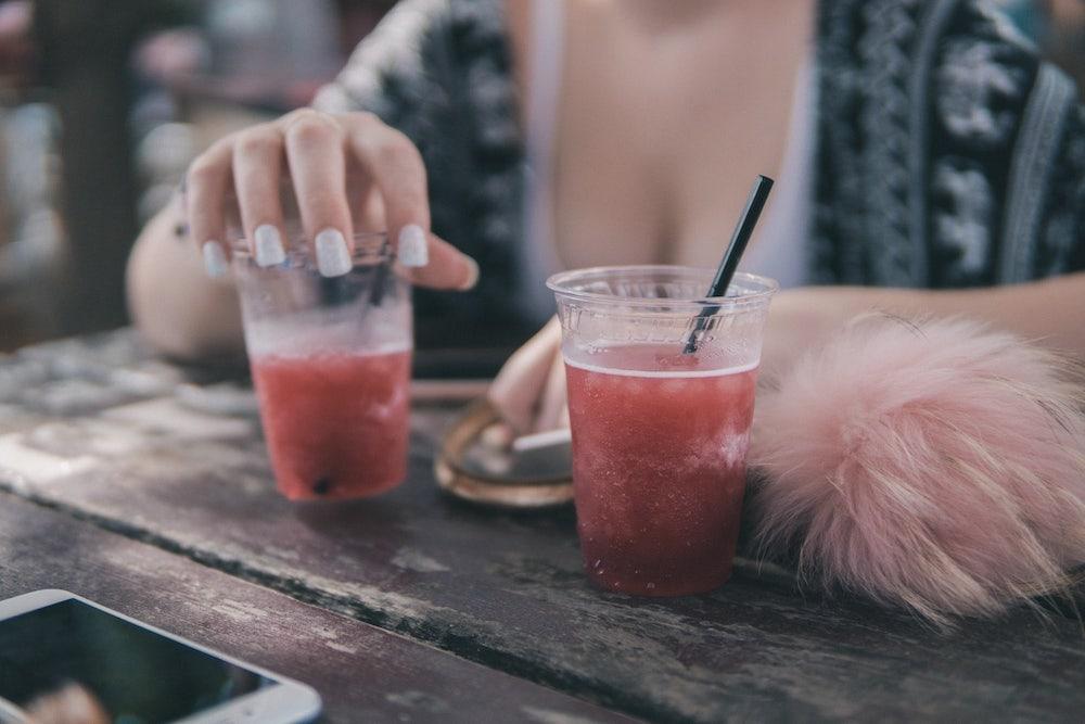 Light-Drink als Mischgetränk für Cocktails