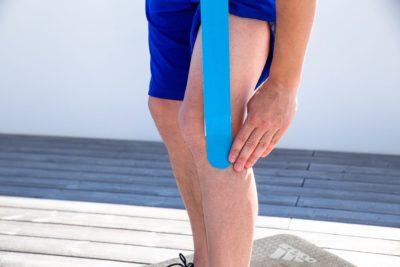 Taping genou du coureur