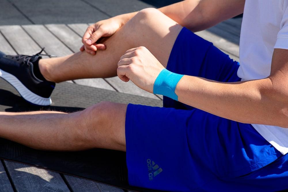Wrist taping