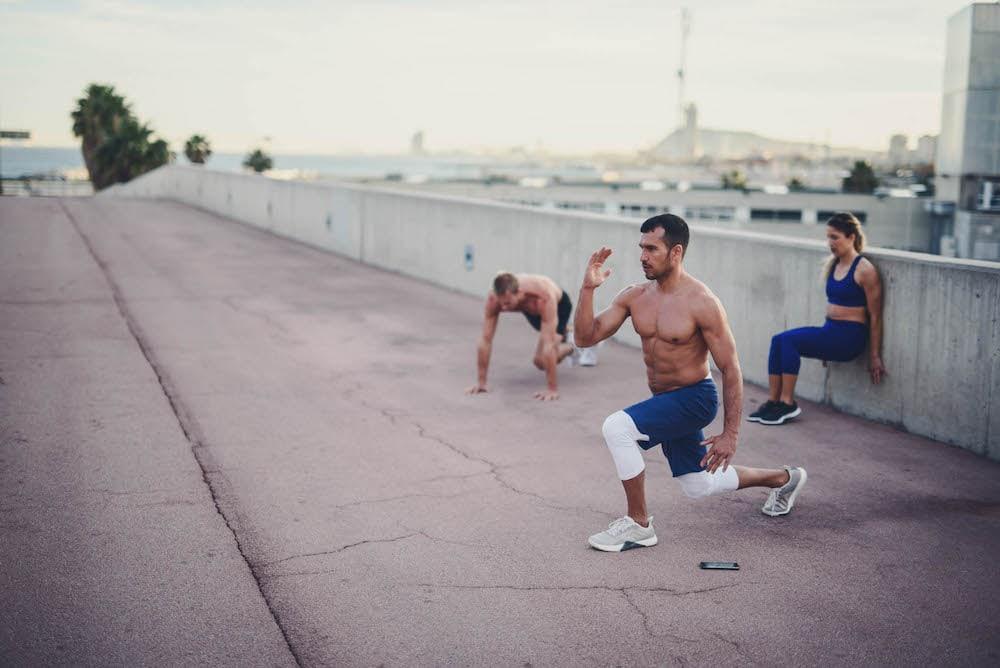 allenamento di forza per runner