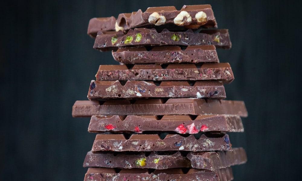 Lots of dark chocolate