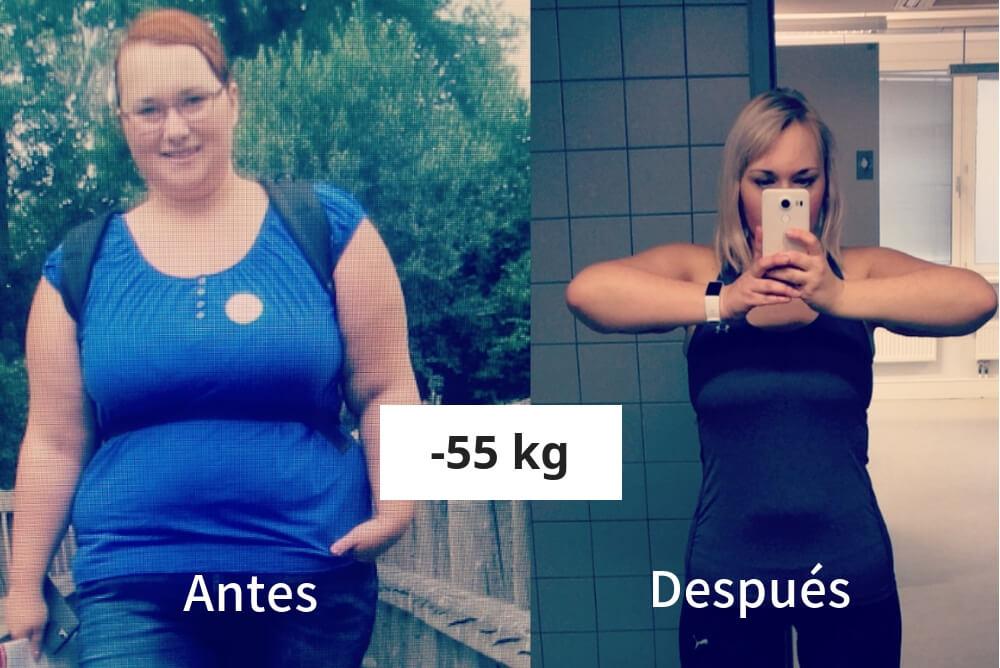 historias de pérdida de peso hombres