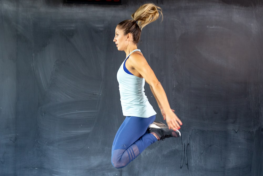 butt kicker jump squat