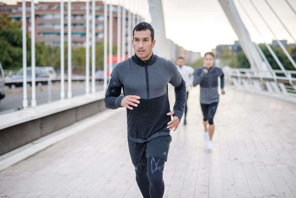 Man macht Interval training