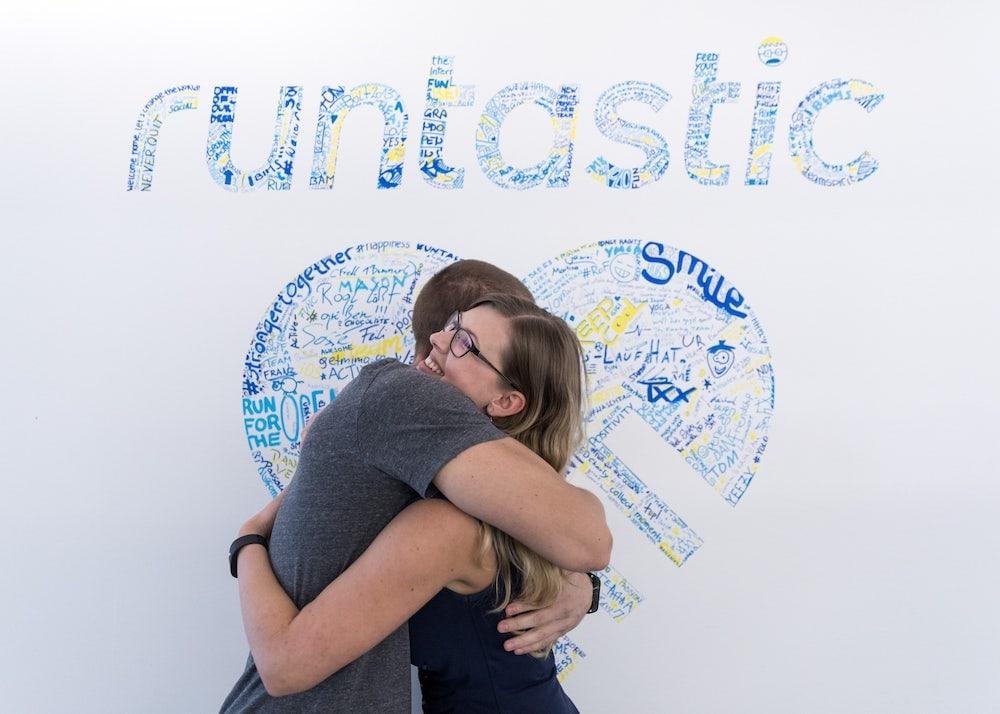 People hugging