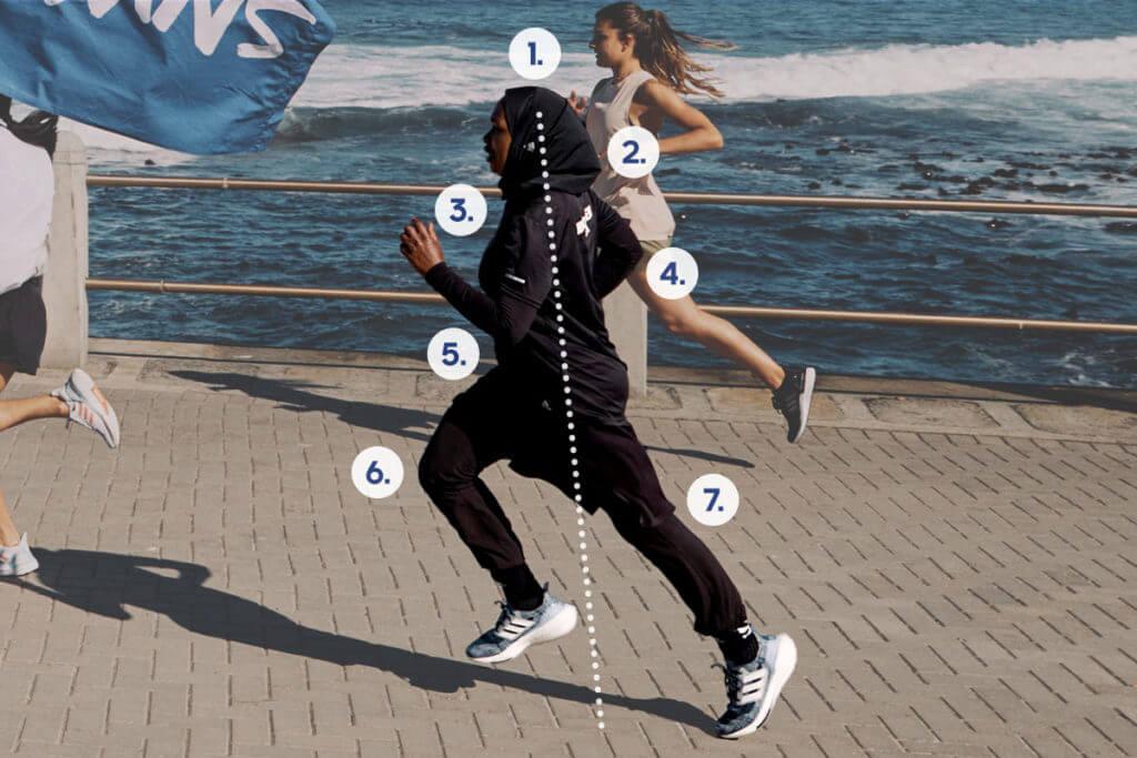 postura corretta nella corsa