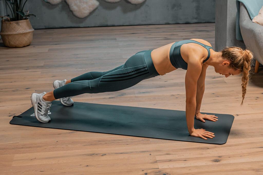 Cómo hacer flexiones paso a paso