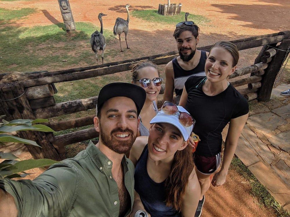 Runtastics visiting Brazil