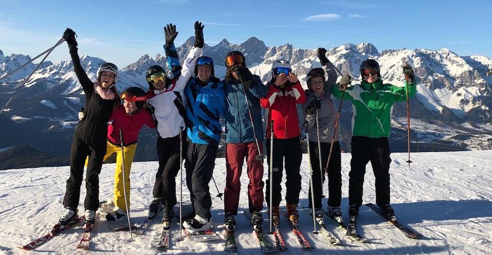 Runtastic winter ski weekend
