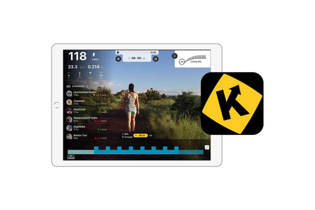 roulez, courez, ramez virtuellement avec Kinomap et l'appli adidas Running